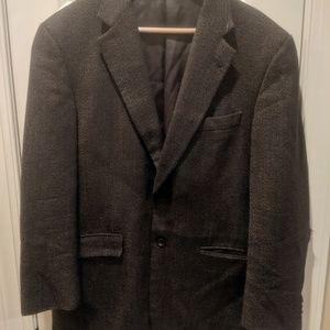 Vintage Burberry men's XL blazer